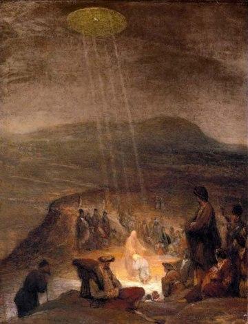 """""""Battesimo di Cristo"""" di Aert De Gelder"""